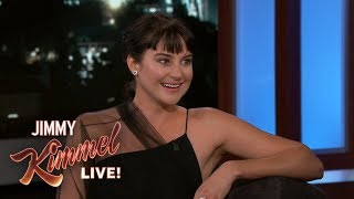 Shailene Woodley on Her Rugby Player Boyfriend & Filming in Fiji