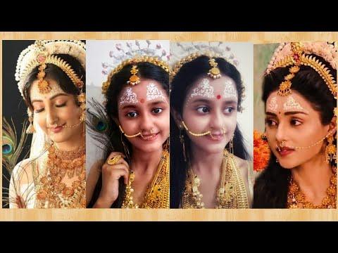 Radhakrishn #starbharat #radha makeup  Radha #Mallikasingh