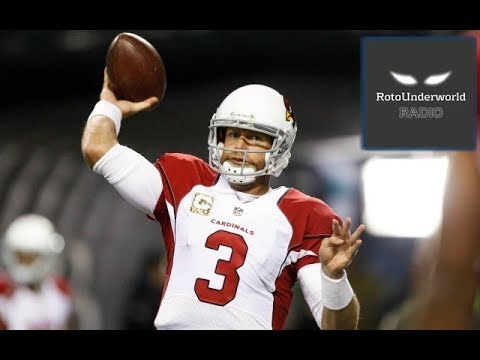Carson Palmer is the last draftable quarterback in fantasy football leagues