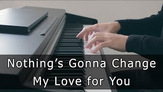 Nothing's Gonna Change My Love for You (Piano Cover by Riyandi Kusuma) видео