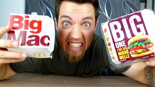 LIDL Burger vs Mc Donald's Burger!!! | Johnny Hand