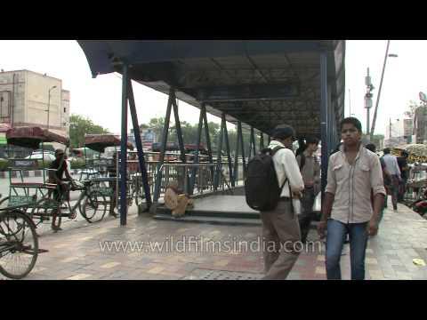 Gate No. 1 of GTB Nagar metro station