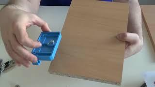 sablon mobila de la Hettich bluejjig minifix