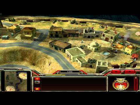 Command and Conquer: Generals China Campaign Mission 6 - Dead in their Tracks [HD]