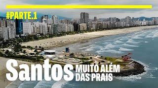 SANTOS uma cidade de So Paulo que voc precisa conhecer Bondinho Museu do Caf e Monte Serrat