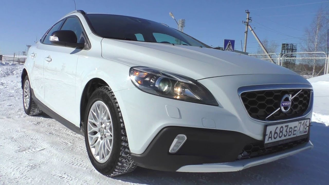 2013 volvo v40 cross country d2 start up engine and in depth tour youtube