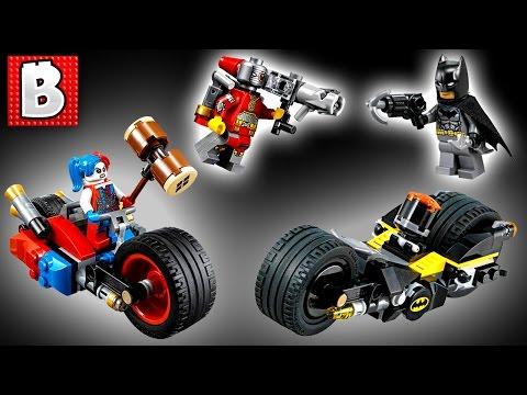 Lego DC Superheroes Batman Gotham City Cycle Chase Set 76053 | Unbox Build Time Lapse Review