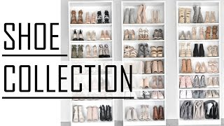SHOE COLLECTION OF A FASHION BLOGGER // 76 pairs of shoes // Heels, Sneakers, Boots //