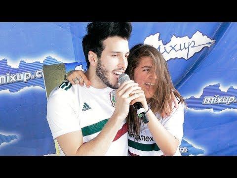 """Isa Moreno le canto a Sebastián Yatra """"Devuélveme el Corazón""""   Showcase y Tómate la Foto Ecatepec"""