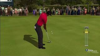 Tiger Woods PGA Tour 10 Xbox 360 Gameplay - Beth Page Black