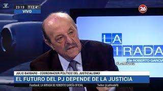 """📡 Julio Bárbaro en """"La mirada"""", de Roberto García - 11/06/18"""