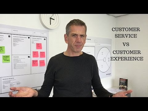 Customer Service vs Customer Experience
