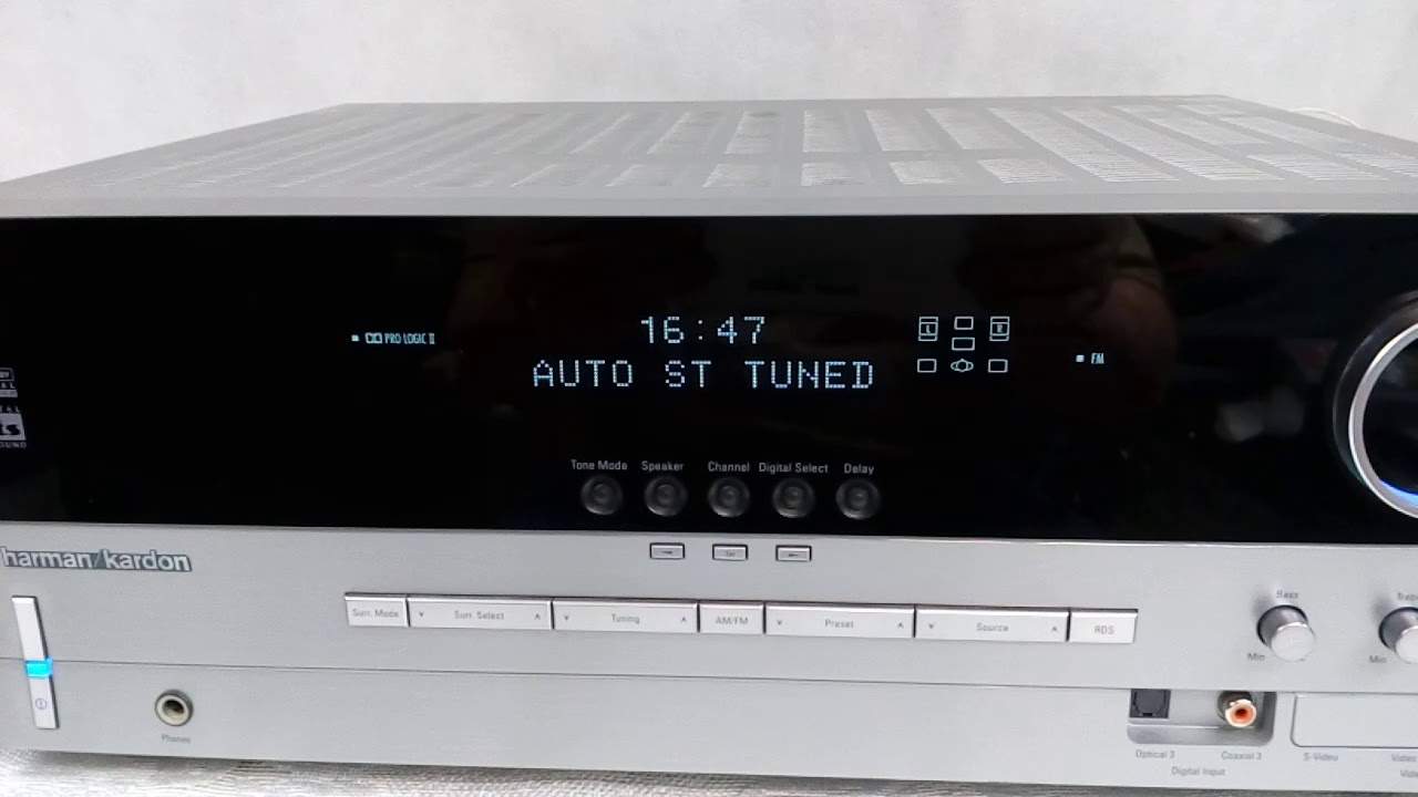 harman kardon avr 130 youtube rh youtube com Harman Kardon AVR 140 Harman Kardon AVR 335 Receiver