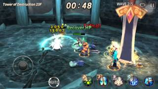 Soul Seeker: Tower of Destruction(4th tower) 23F imposible or not