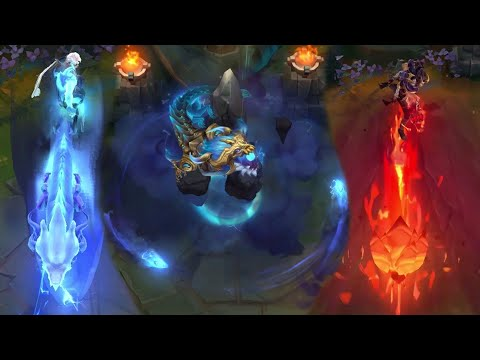 Dragonmancer Lee Sin, Aurelion Sol/Ao Shin, Ashe, Brand and Sett (Prestige Sett) | PBE PREVIEW
