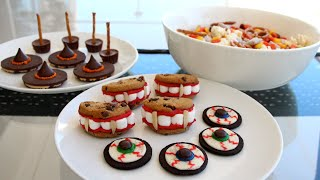 4 Halloween Party Treats and Snack Ideas! Thumbnail