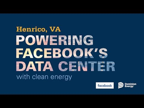 Facebook Data Center Powered with Renewable Energy
