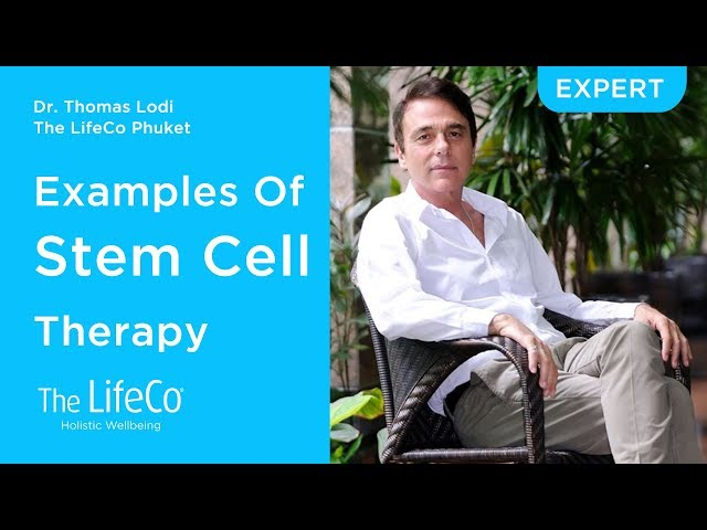 Examples Of Stemcell Therapy