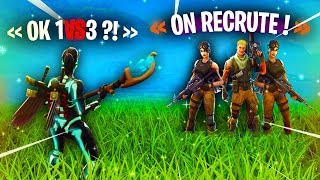 This Team Fortnite wanted to recruit me but, here's what happened...