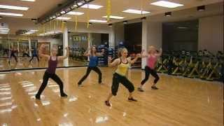 """Scream and Shout"" By Will.I.Am and Britney Spears ZUMBA Warm-up by Krissie"