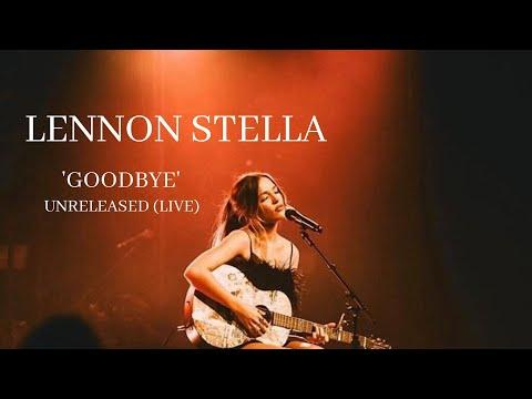 Lennon Stella // 'Goodbye' (LIVE)