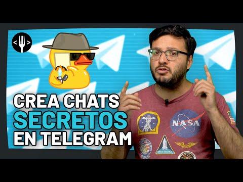 Telegram: Cómo hacer un chat secreto | Código Espagueti Al Servicio de la Comunidad