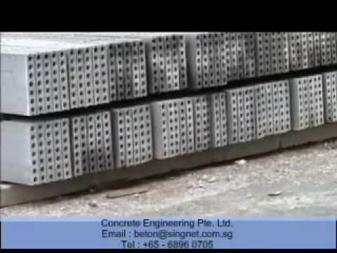 Precast Walls Wall Panels Low Cost Housing Light Weight