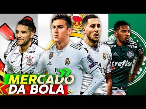 Hazard acerta com Real Madrid e Dybala é o PRÓXIMO, Palmeiras, Corinthians, Flamengo e mais !