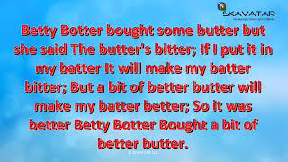 Tongue Twister Betty Botter Bought Some Butter 92 FAIL Trying