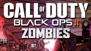 Black Ops 2 Buried Zombies Funny Moments #3 - How to Hide in a Corner All Game!
