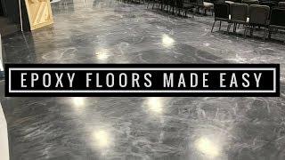 Epoxy Floors Made Easy Leggari Metallic Epoxy Kits