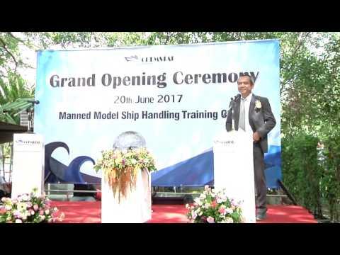 รับถ่ายวีดีโอเทรนนิ่ง Manned Model Ship Handling Training Center