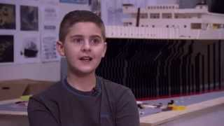 Brynjar Karl the LEGO builder in DISCOVERY Science