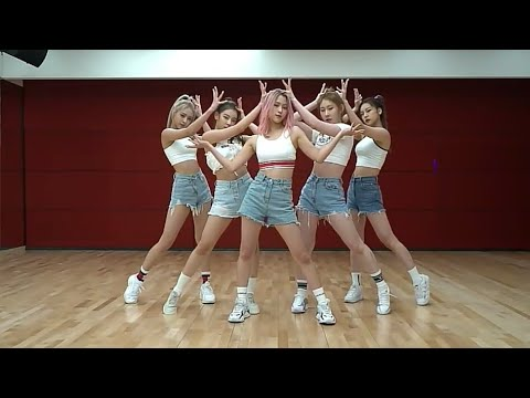 ITZY - ICY dance practice mirrored