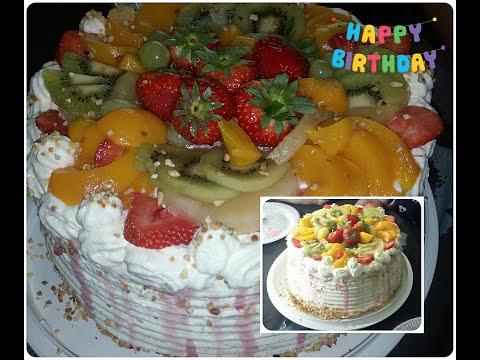 #gâteau-d'anniversaire-au-fruits-(-génoise-à-la-crème-chantilly-au-mascarpone-)