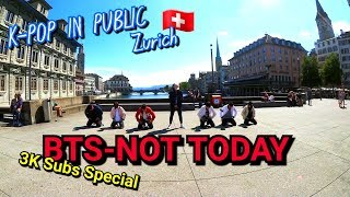BTS (방탄소년단)_NOT TODAY_Public Dance Cover_UKK 3K Subs Special