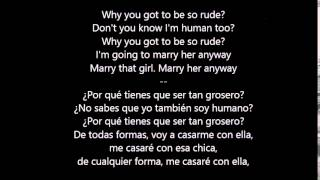 Rude - MAGIC!  ( Lyrics ) Letra en español subtitulada HQ