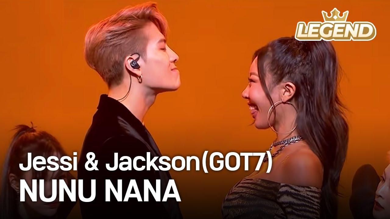 Jessi & Jackson(GOT7) - NUNU NANA I KBS WORLD TV 201218