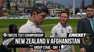 Test Championship - New Zealand v Afghanistan - Day 1 Highlights - Cricket 19