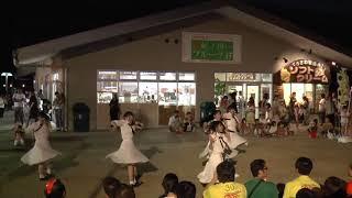 新生おやゆびプリンセス(石川アイドル) 和歌山マリーナシティーイコラストリート.