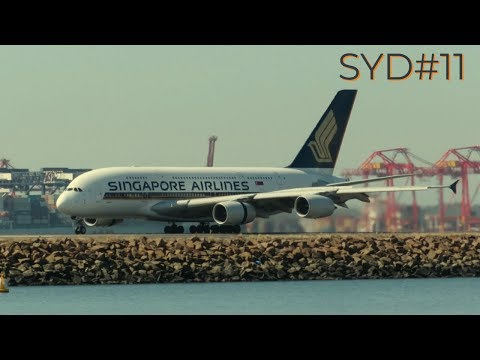 [HD] Plane Spotting Video I Sydney Kingsford Smith Airport I Episode-11