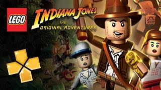 Lego Indiana Jones PPSSPP Gameplay Full HD / 60FPS
