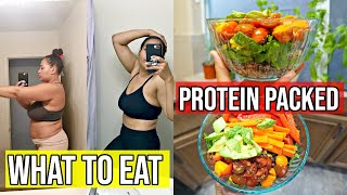 PROTEIN PACKED QUINOA BOWL / EASY RECIPES FOR WEIGHT LOSS / COOK WITH ME