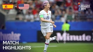 Spain v USA - FIFA Women's World Cup France 2019