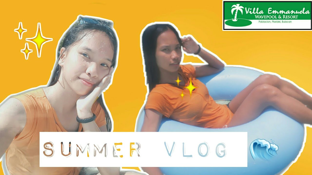 Summer Vlog | Villa Emmanuela Wavepool and Resort