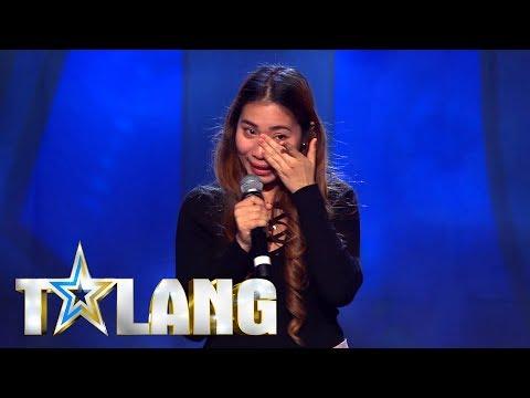 Sheilla trotsar sin blyghet och följer drömmen i Talang 2018 - Talang (TV4)