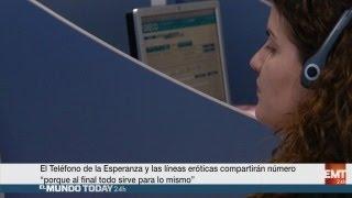 El Teléfono de la Esperanza y las líneas eróticas compartirán número  | El Mundo Today 24H