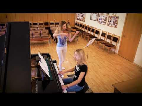 русские скрипачки клип