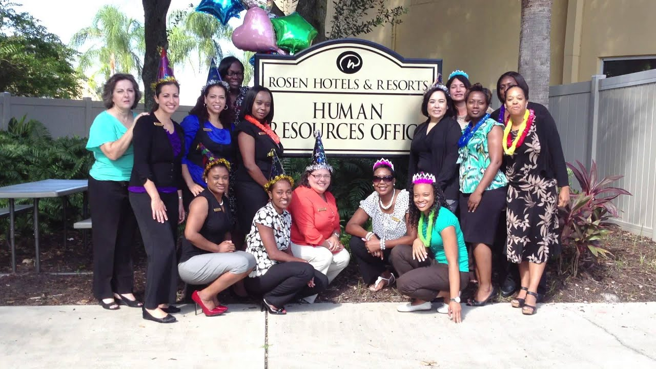 Rosen Hotels Resorts Human Resources