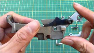 Mauser C96 Broomhandle Locking Frame assembly